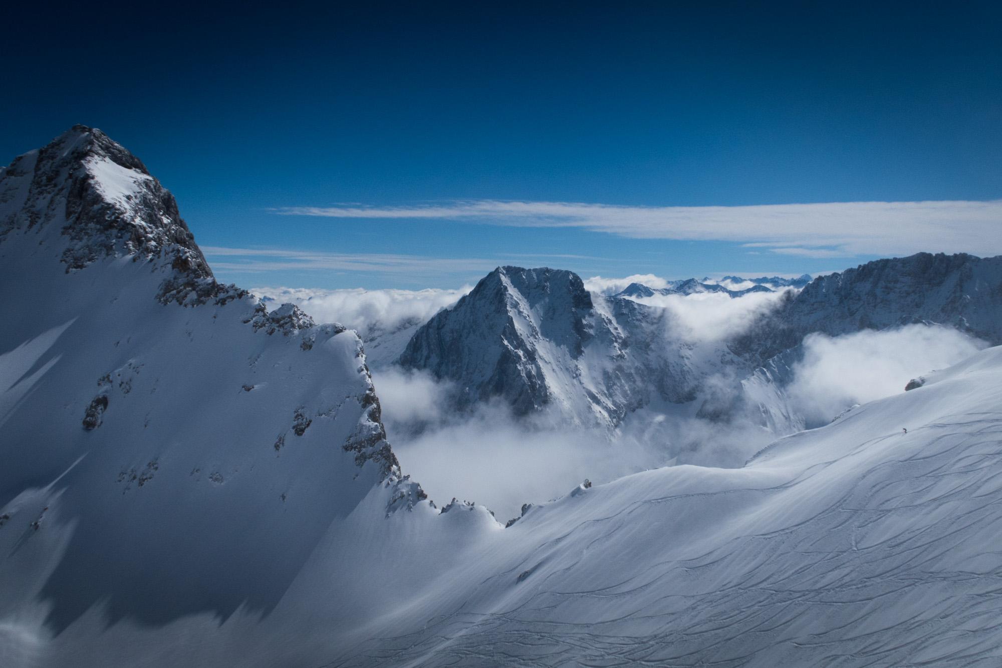 Zugspitze scenic