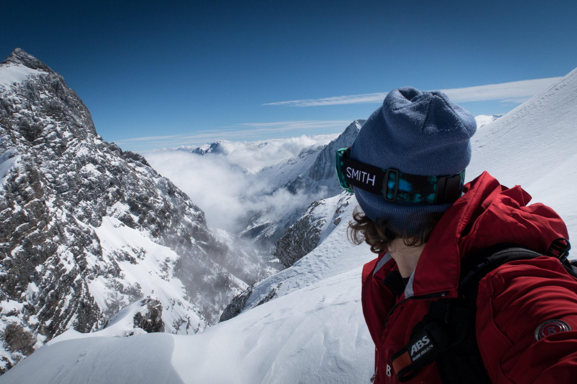 Zugspitze selfie scenic 1
