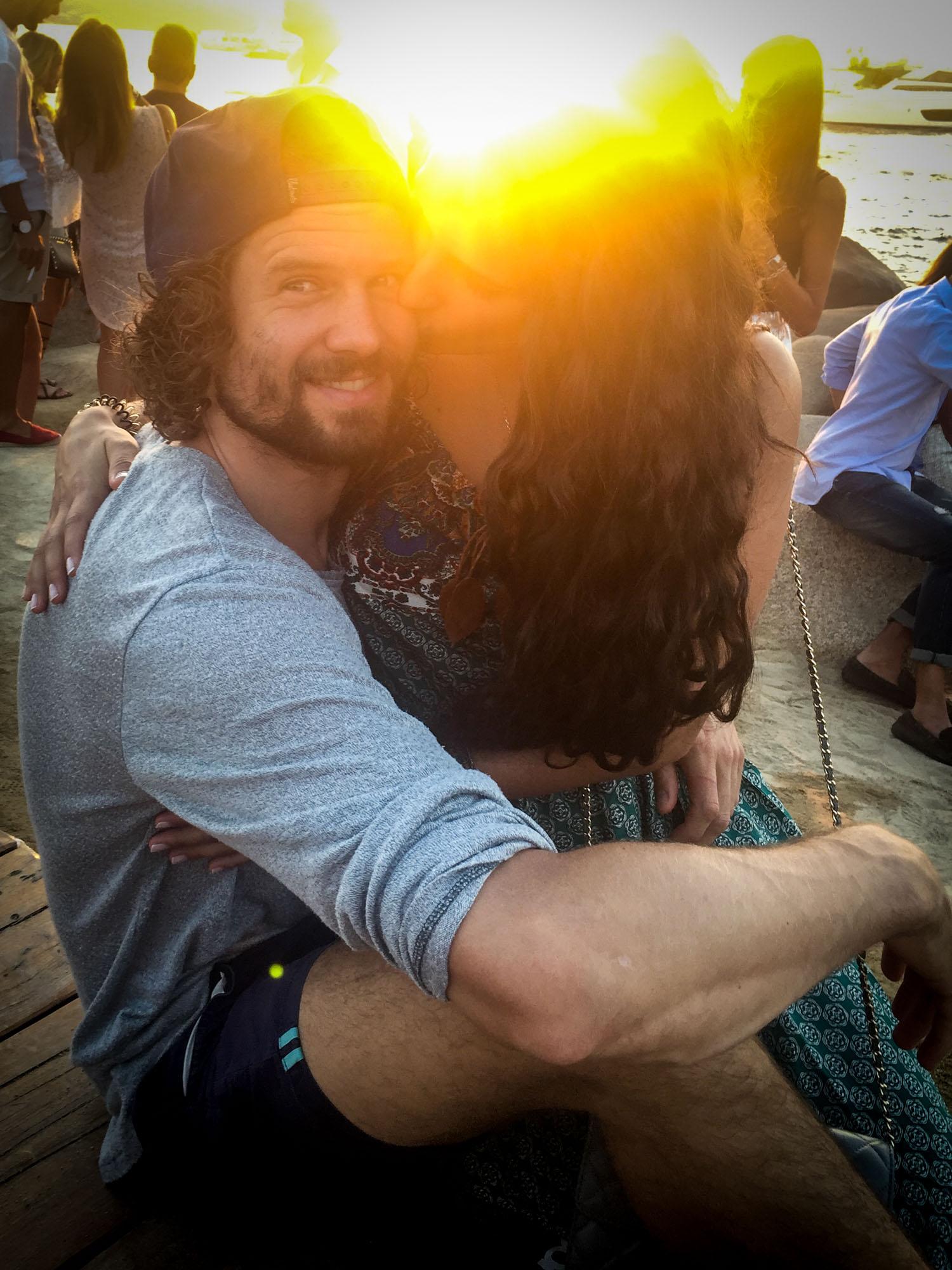Babe and i phi beach1