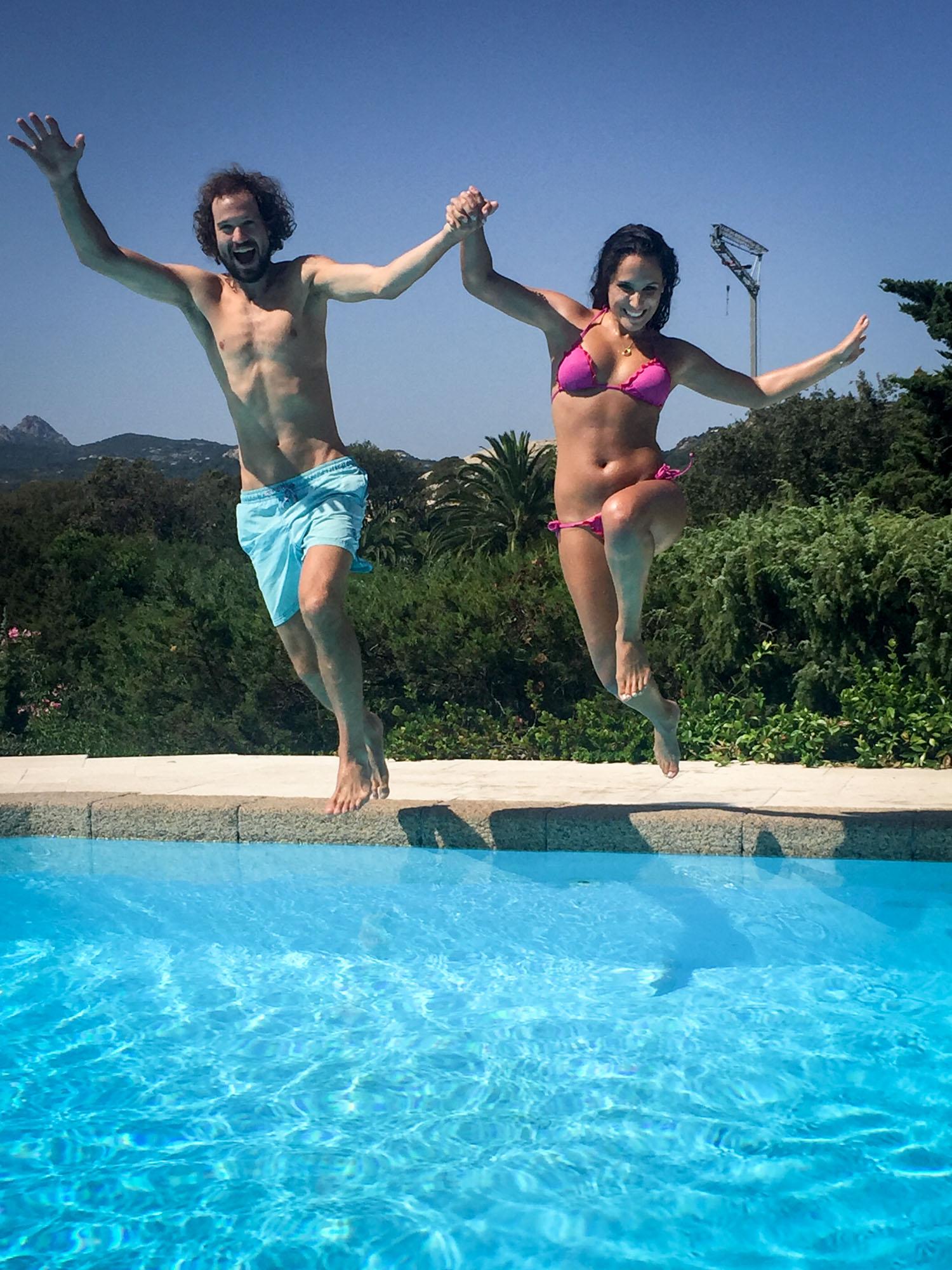 Babe and i pool fun