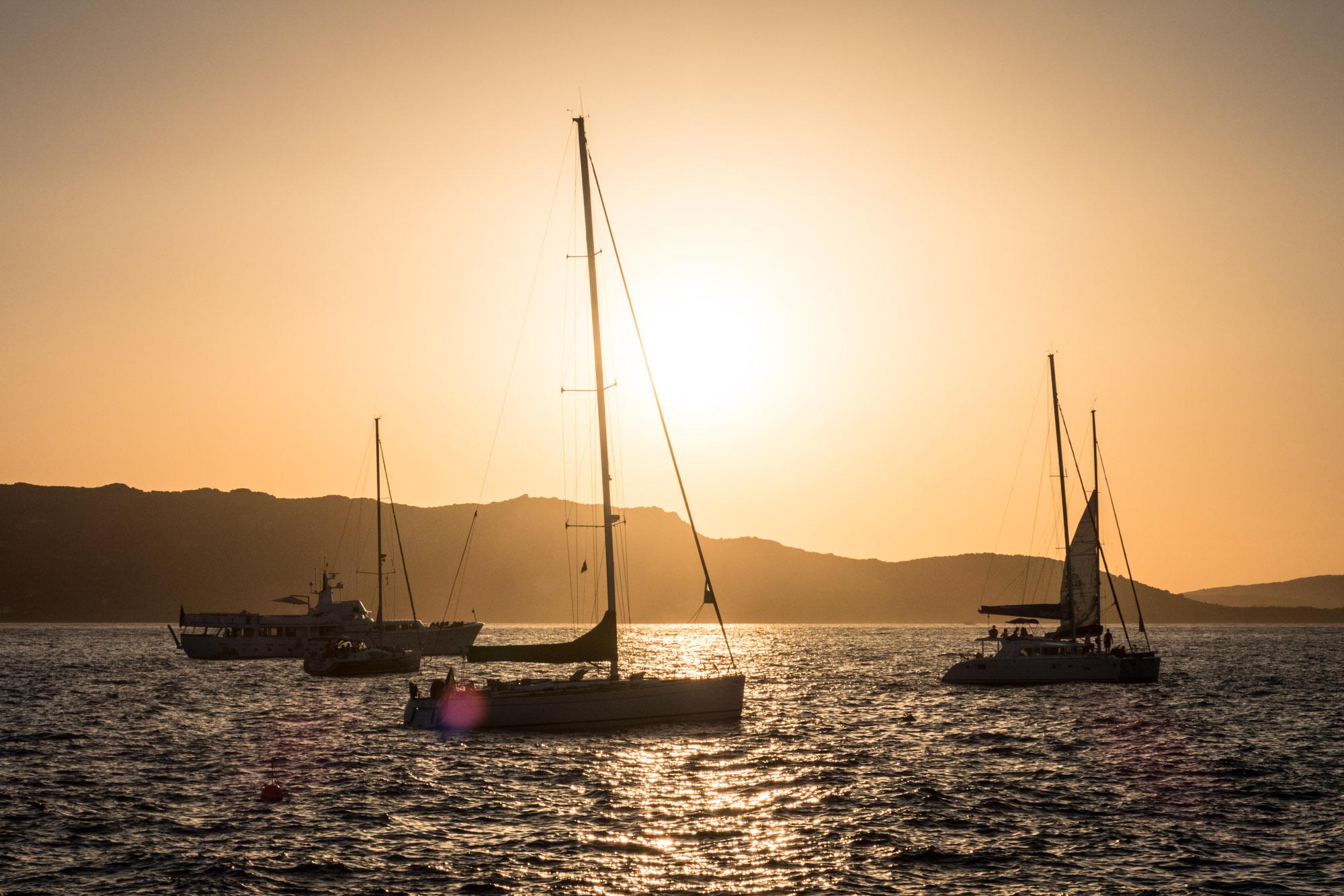 Phi Beach Sunset